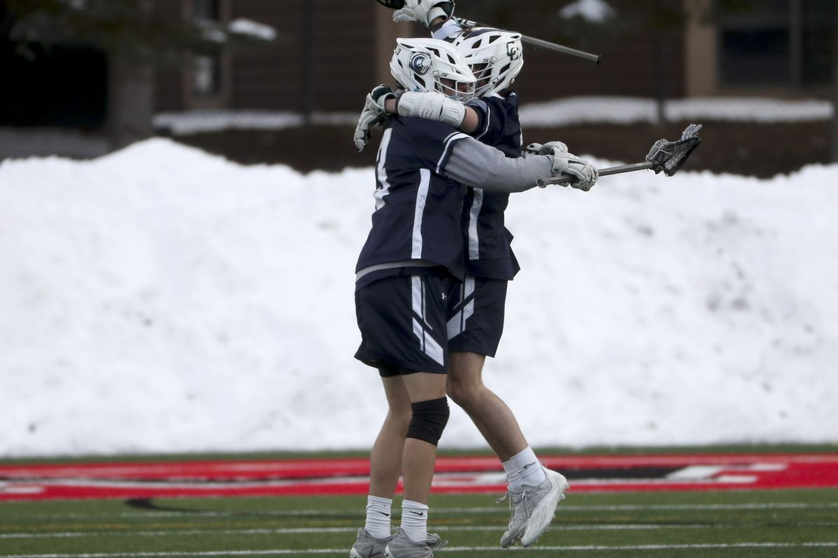 The opening round of the boys lacrosse state tournament was held on Tuesday, May 18, 2021.