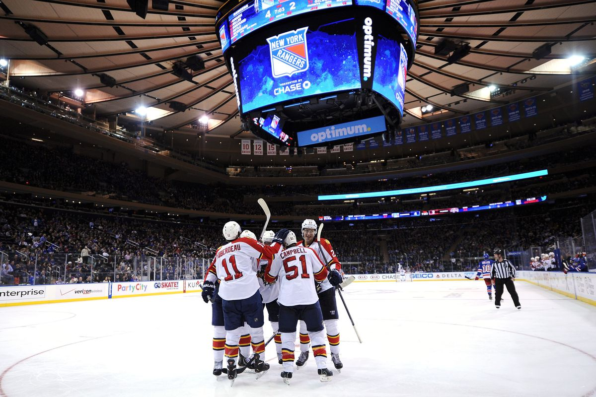 College hockey will take over the world's most famous arena on Saturday night for Red Hot Hockey.