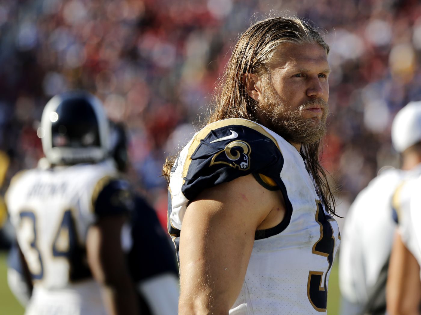 Former Green Bay Packers Star Clay Matthews Fitting In With La Rams Chicago Sun Times