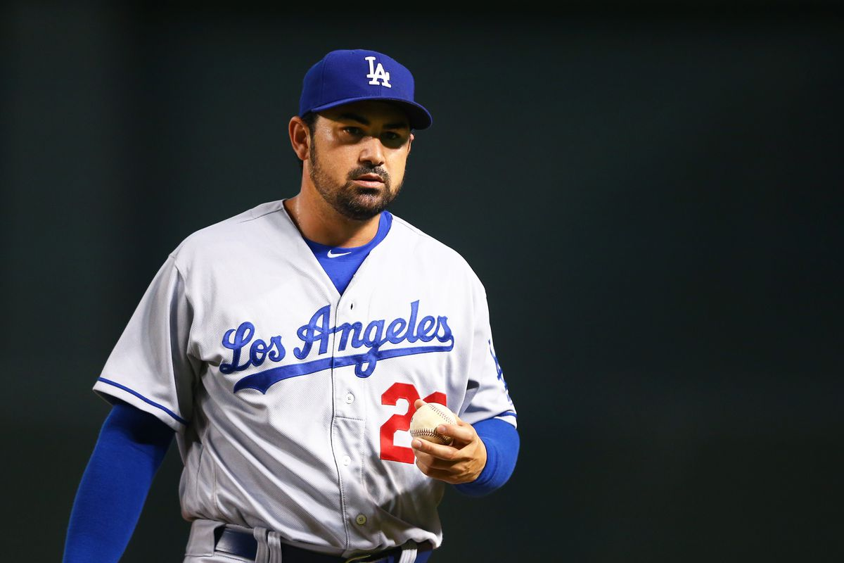 Adrian Gonzalez Is On Top Of The Mets First Base Depth Chart
