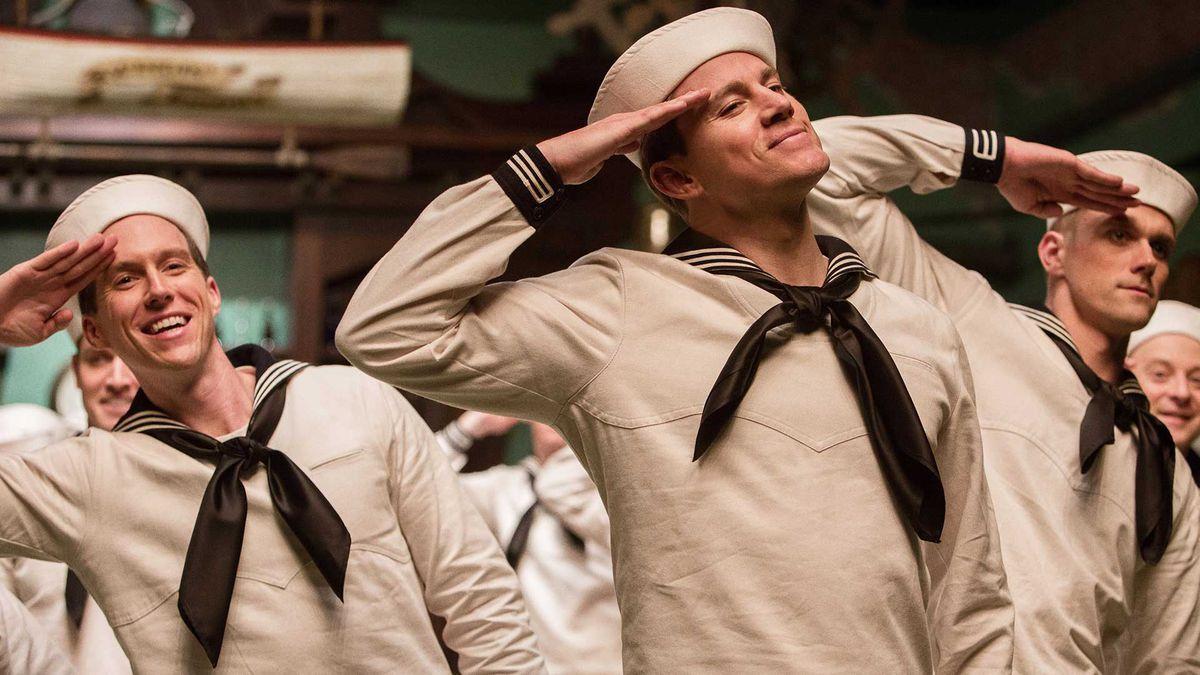 Channing Tatum dances.