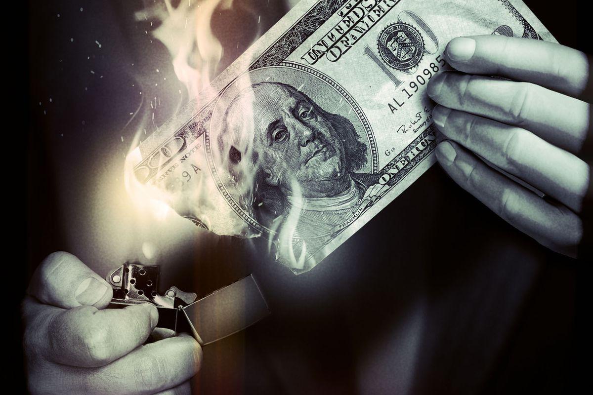 ILLUSTRATION: Financial Sabotage