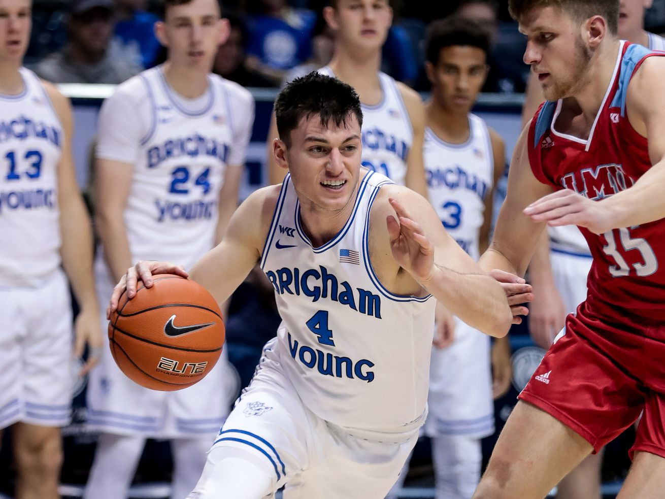'We're going to be a fun team to watch:' BYU's Alex Barcello looking forward to playing with front court players like Matt Haarms