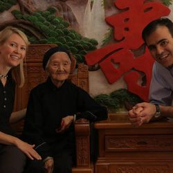 Dr. John Day and his wife, Jane, in Bapan Village, China, in 2013.