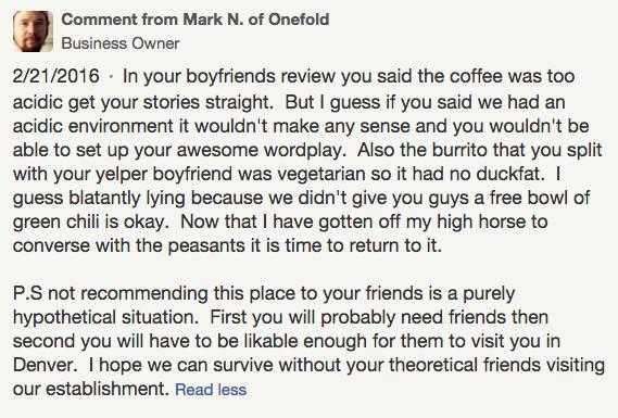 Onefold Yelp 2