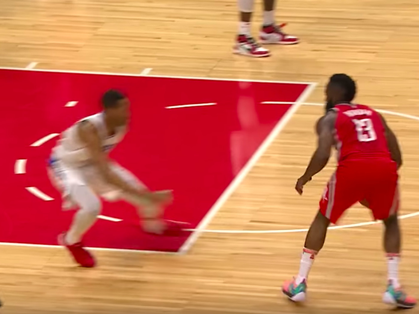 c99cfc17379b 13 most disrespectful things from James Harden s crossover on Wesley Johnson  - SBNation.com
