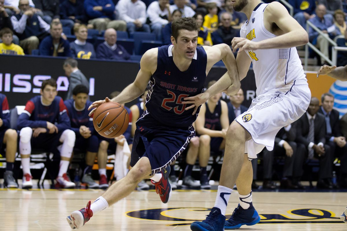 Joe Rahon and the Saint Mary's Gaels look to run past Pepperdine and remain perfect in conference play.
