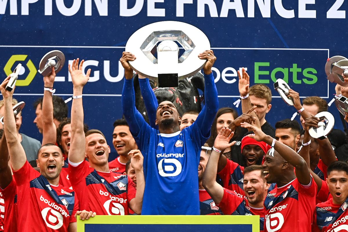 Lille OSC - Ceremony of the title of French champion