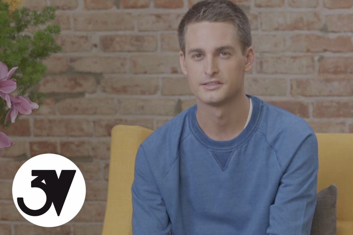 Snapchat 39 s evan spiegel goes to france asks for ad money - Snapchat spiegel ...