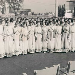 The Greek Choral Society of Chicago in the 1930s.   Sun-Times Archives
