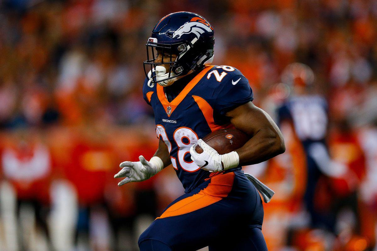 a8d87948 2019 Denver Broncos roster review: Running back Royce Freeman - Mile ...
