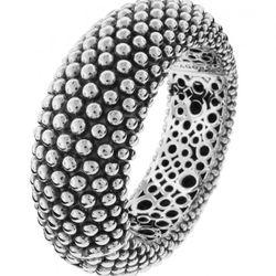 "<a href=""https://www.lagos.com/product.php?pid=555?id=Beaded-Hinge-Bracelet"">Signature Caviar Beaded Hinge Bracelet</a>, $1295"