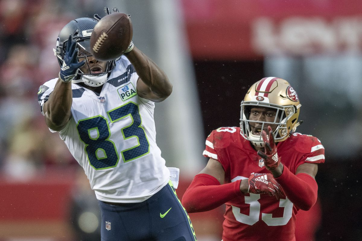 best sneakers 11264 2fcc8 This Seahawks receiver may be better right now than DK ...