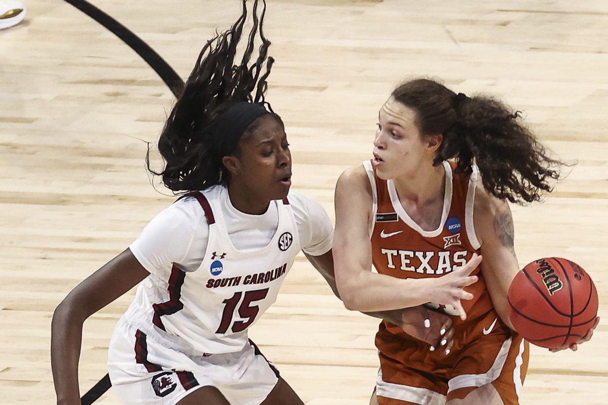 NCAA Womens Basketball: Elite Eight-Texas at South Carolina