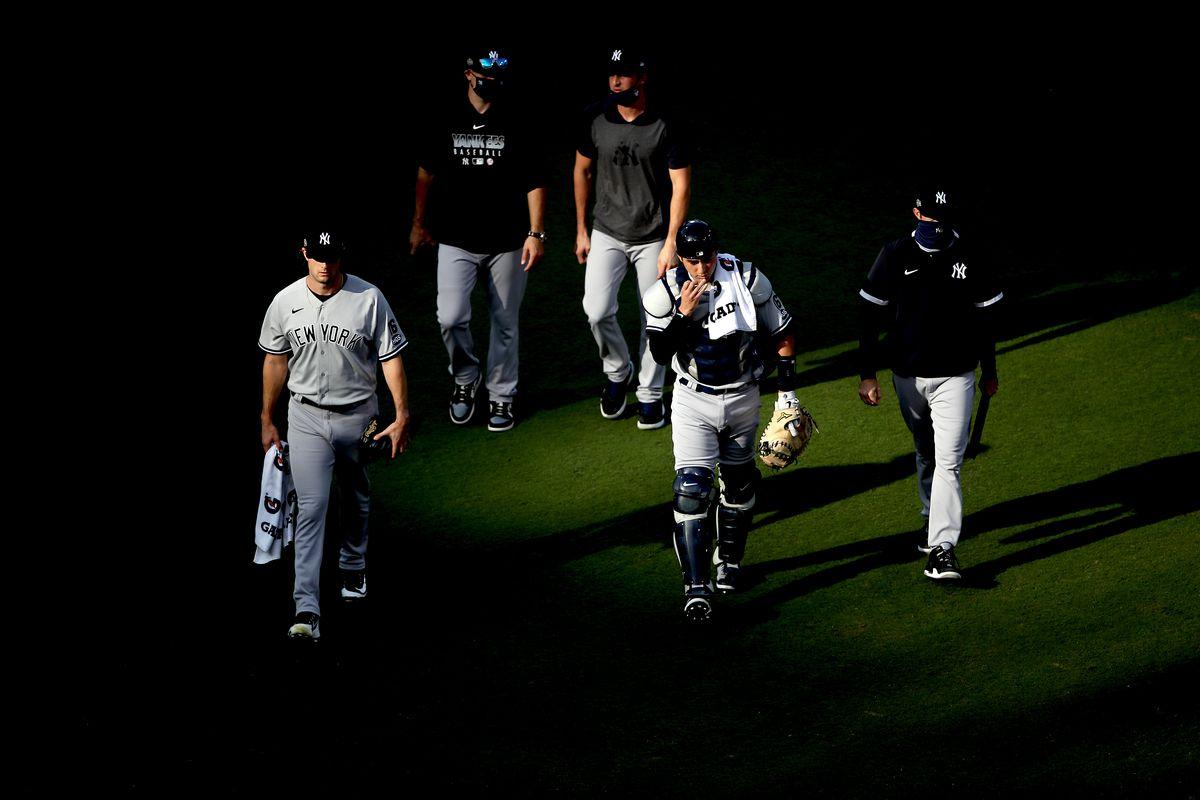 Division Series - New York Yankees v Tampa Bay Rays - Game Five