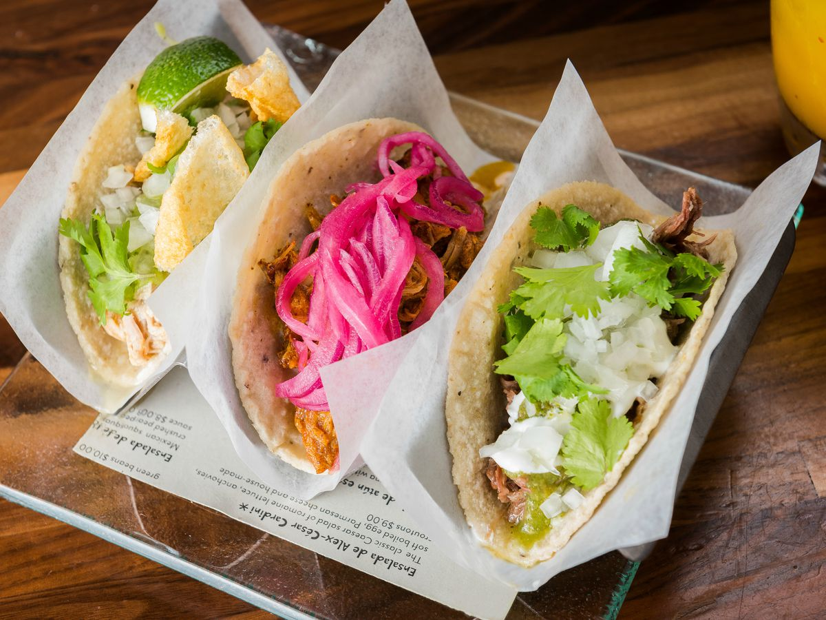 Tacos from Oyamel