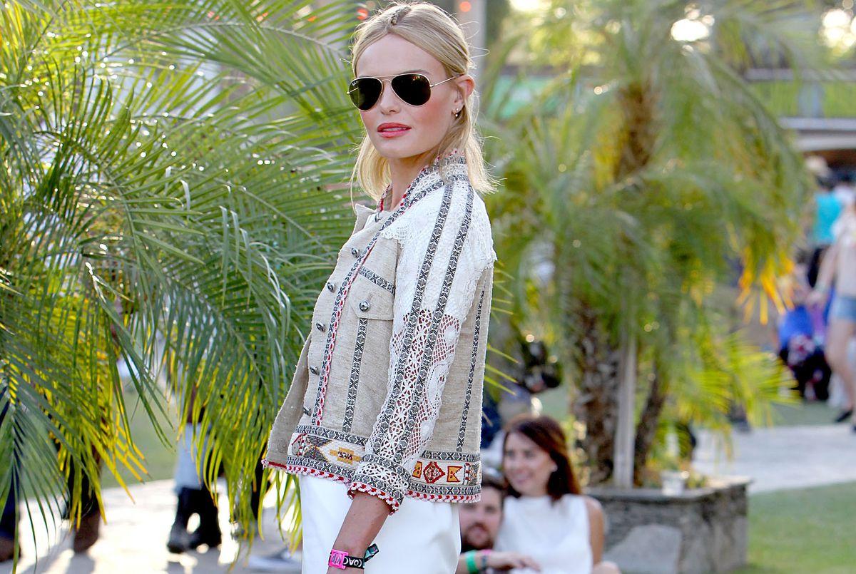 Kate Bosworth at Coachella 2015.