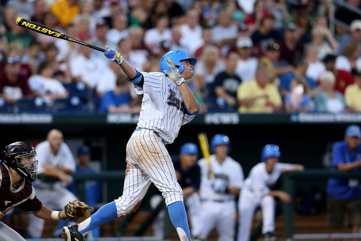 UCLA's Kevin Kramer is tearing the cover off the ball.