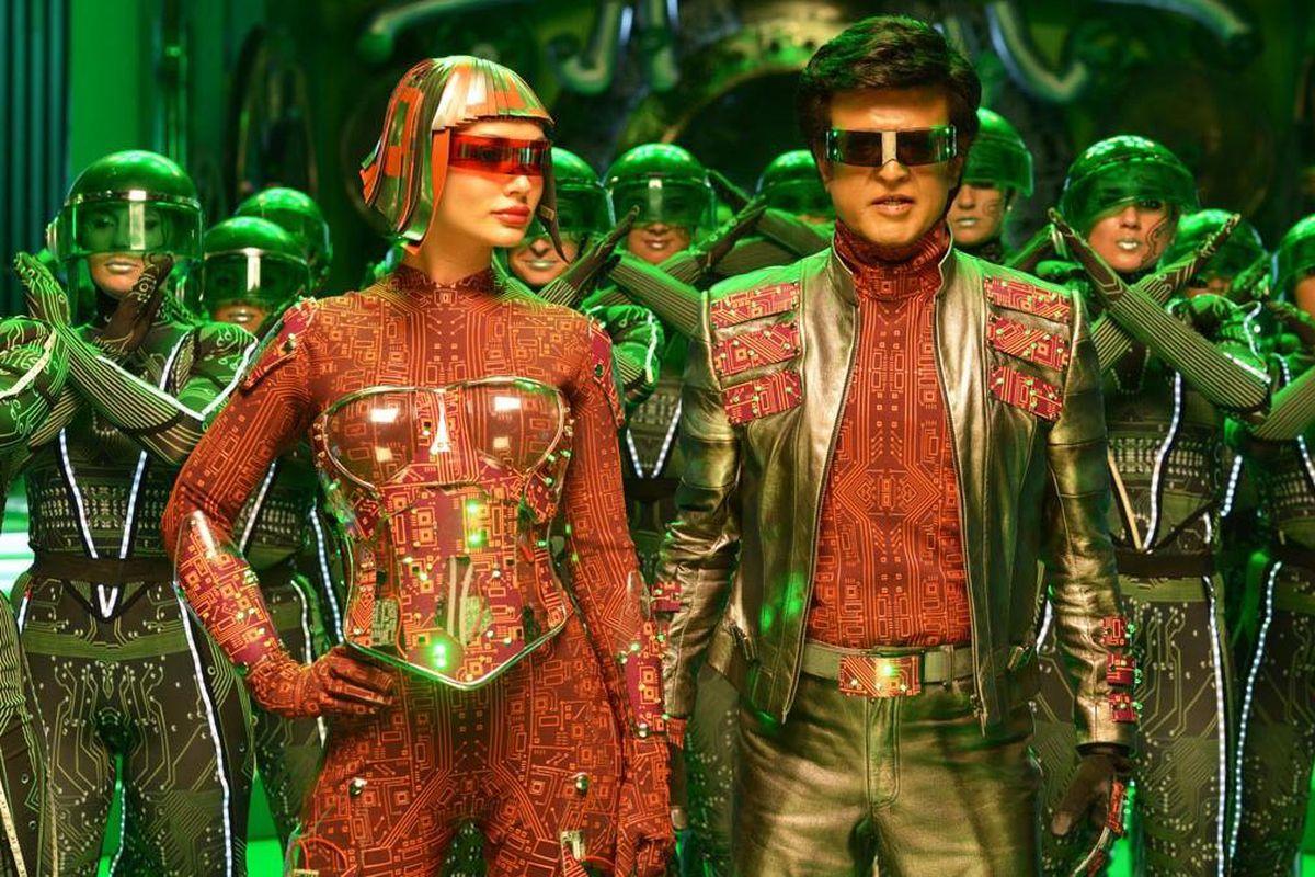 Superstar Rajinikanth in Shankar's 2.0 movie