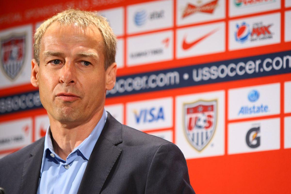 NEW YORK, NY - AUGUST 01:  Who will impress Klinsmann tonight?  (Photo by Neilson Barnard/Bongarts/Getty Images)