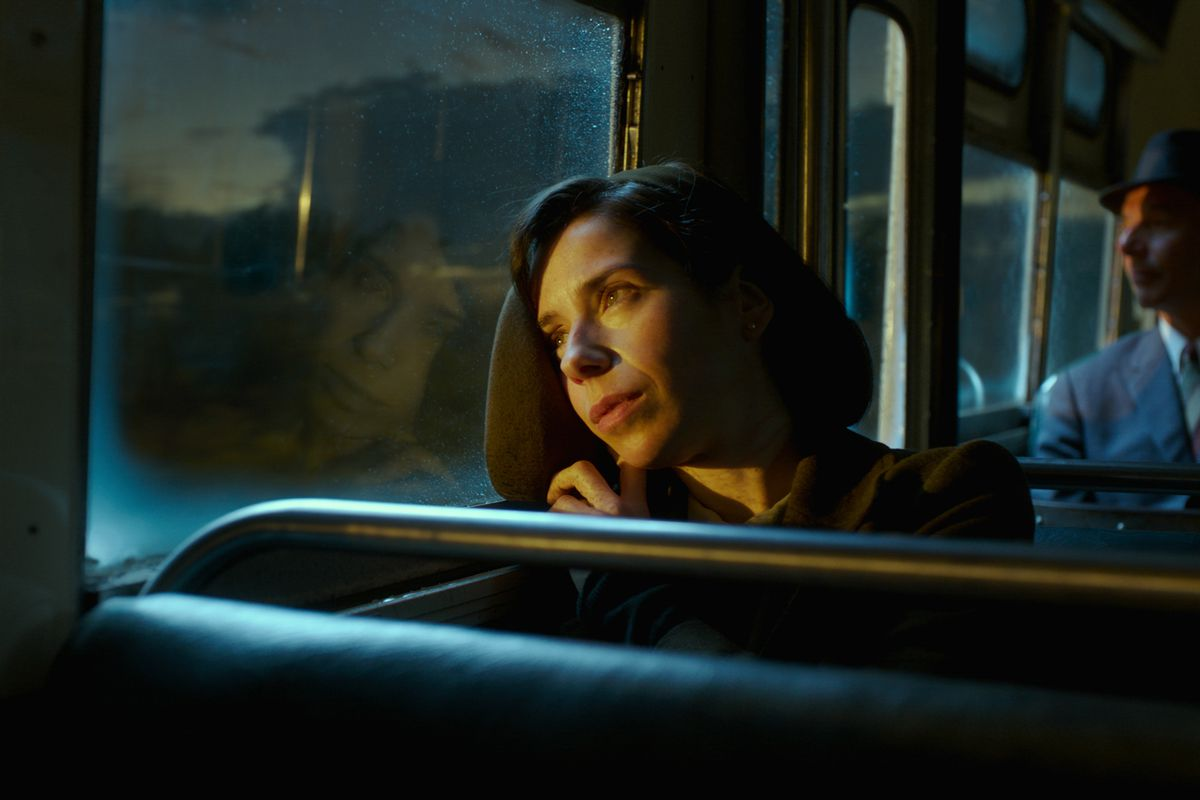 Sally Hawkins as Elisa Esposito in The Shape of Water.