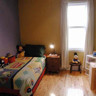 After House Staging: Guest Bedroom Becomes Kid's Bedroom