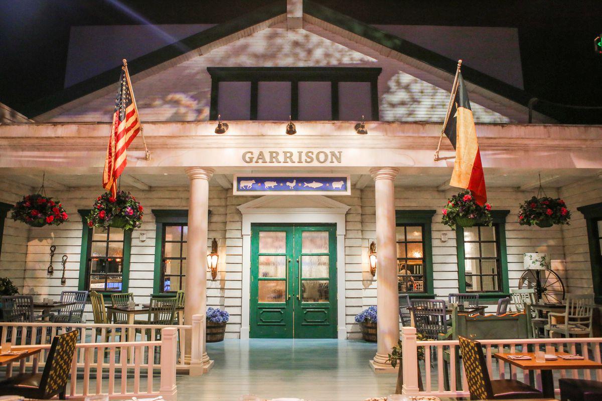 Garrison's facade