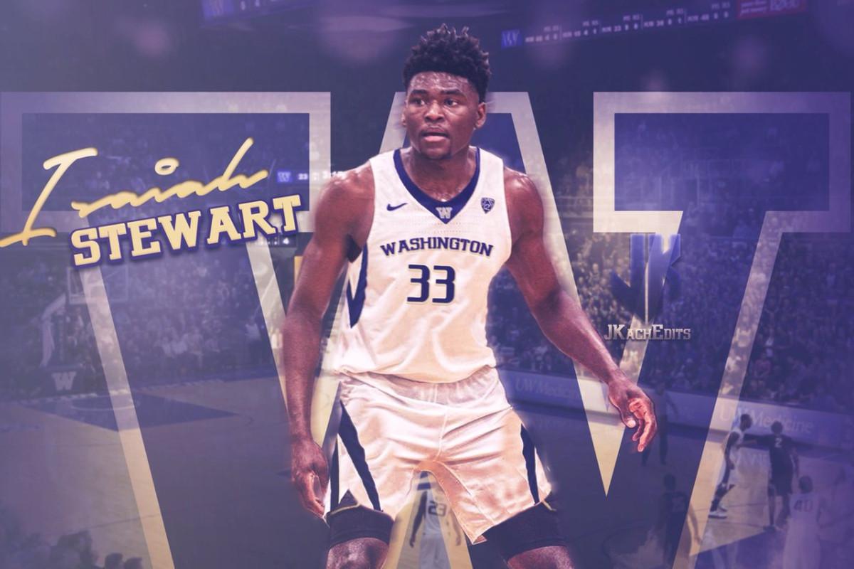 2019 Syracuse Basketball Target Isaiah Stewart Commits To Washington