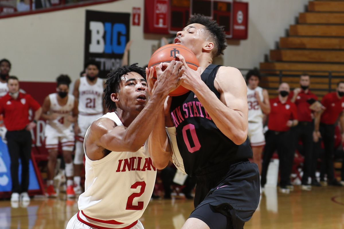 COLLEGE BASKETBALL: DEC 23 Penn State at Indiana