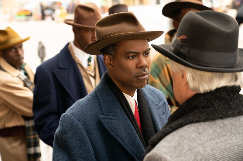 "Chris Rock stars as Loy Cannon in this scene from ""Fargo."""
