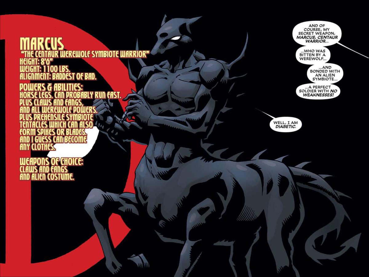 From Deadpool: The Gauntlet, Marvel Comics (2014).