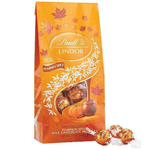 Lindor Pumpkin Spice Truffle