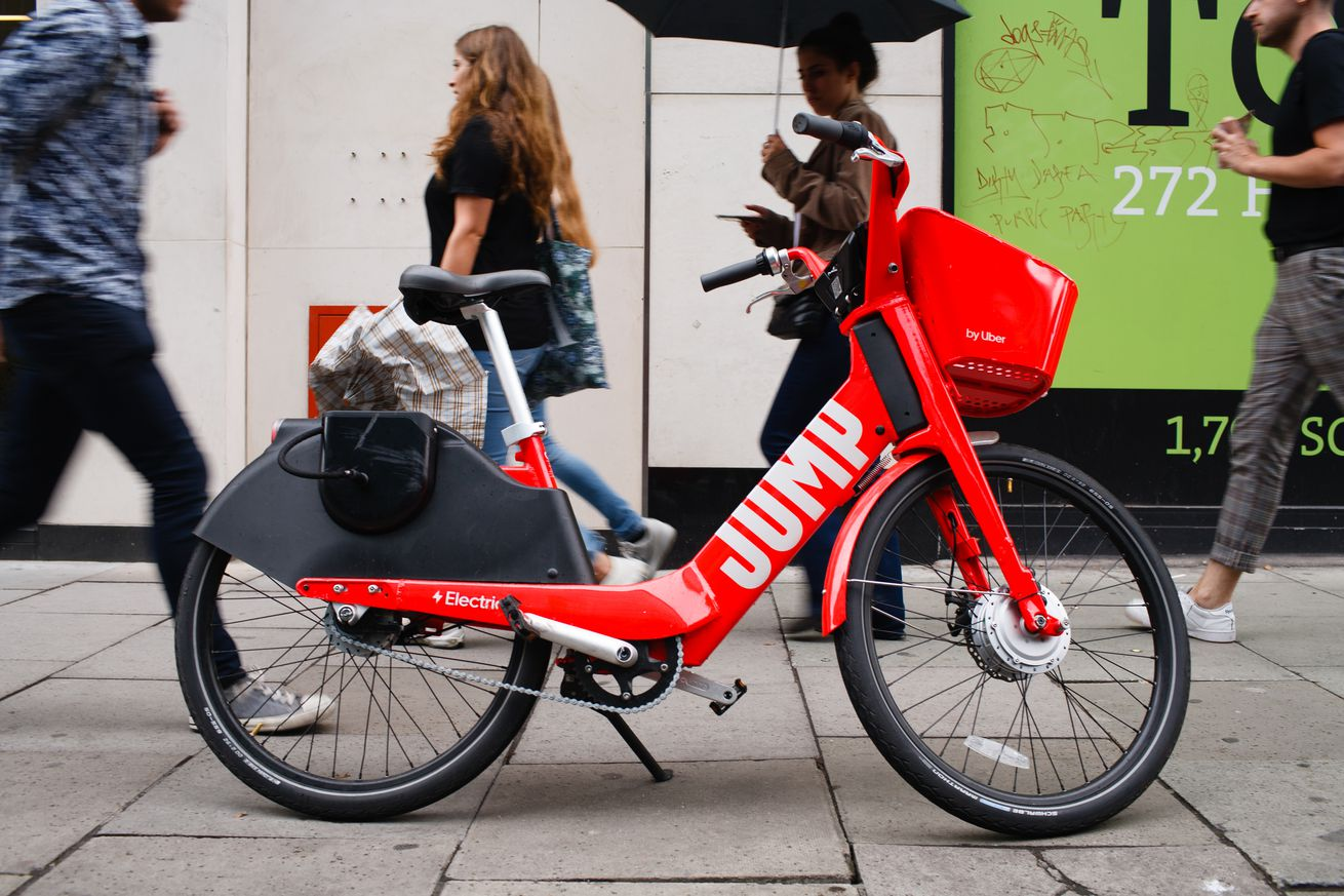 Electric Uber Jump And Freebike Bicycles In London