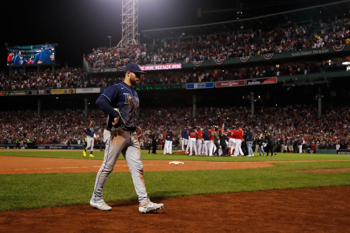 Division Series - Tampa Bay Rays v Boston Red Sox - Game Four