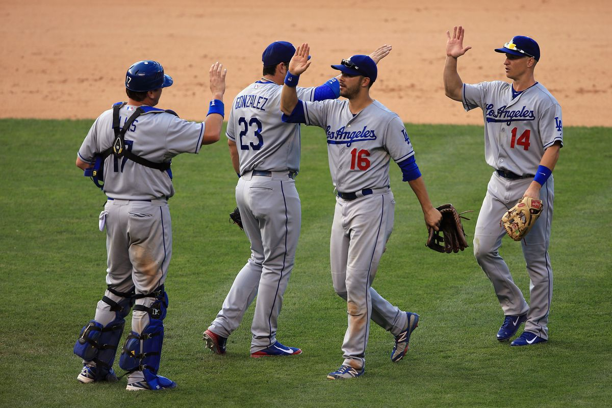 This quartet, plus Juan Uribe, were the only five Dodgers to start 100 games in 2013.