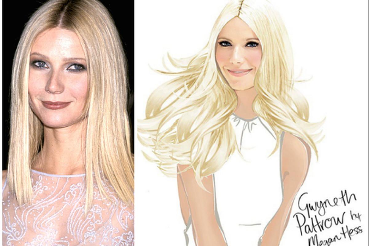 """Left: Gwyneth Paltrow; Right: <a href=""""http://instagram.com/p/tkxrNyjE1p/?modal=true"""">Not Gwyneth Paltrow</a>"""