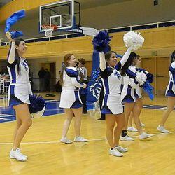 Seton Hall cheerleaders