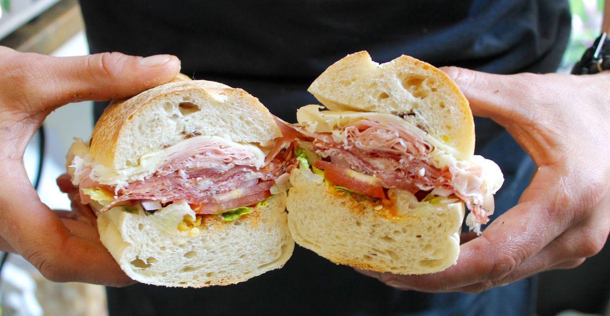 Monica's sandwich