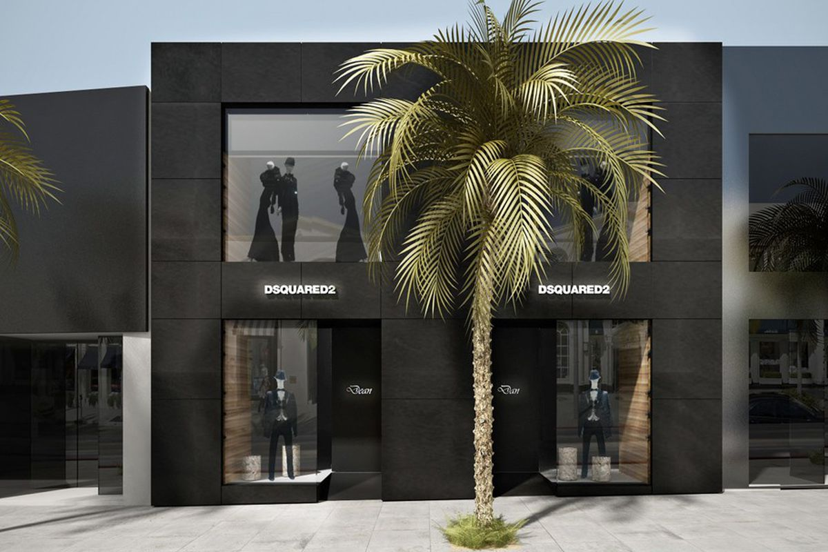 Dsquared2 in Beverly Hills