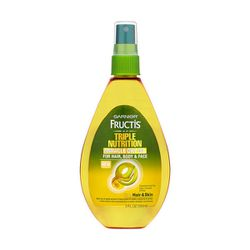 """<b>Garnier Fructis</b> Triple Nutrition Miracle Dry Oil, <a href=""""http://www.garnierusa.com/_en/_us/our_products/product-struct.aspx?tpcode=OUR_PRODUCTS%5EPRD_HAIRCARE%5EFRUCTIS%5EFRUCTIS_DISCOVER%5EFRUCTIS_TRIPLE_NUTRITION%5EFRUCTIS_TRIPLE_NUTRITION_RTN3"""