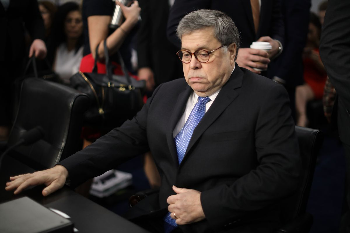 Attorney General William Barr Testifies To House Appropriations Committee On Capitol Hill