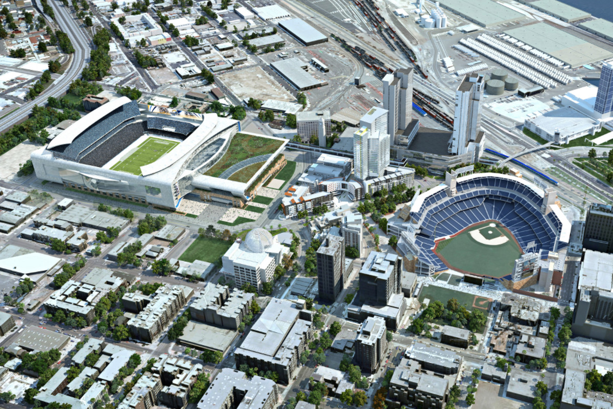 JMI Realty's Proposed Stadium / Convention Center