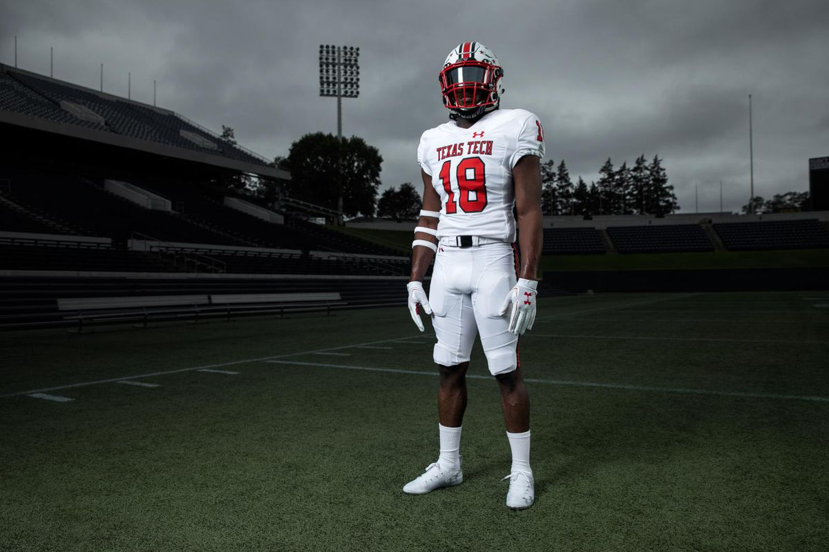 e9c3489ba Check out Texas Tech s throwback uniforms for this week s TCU game ...