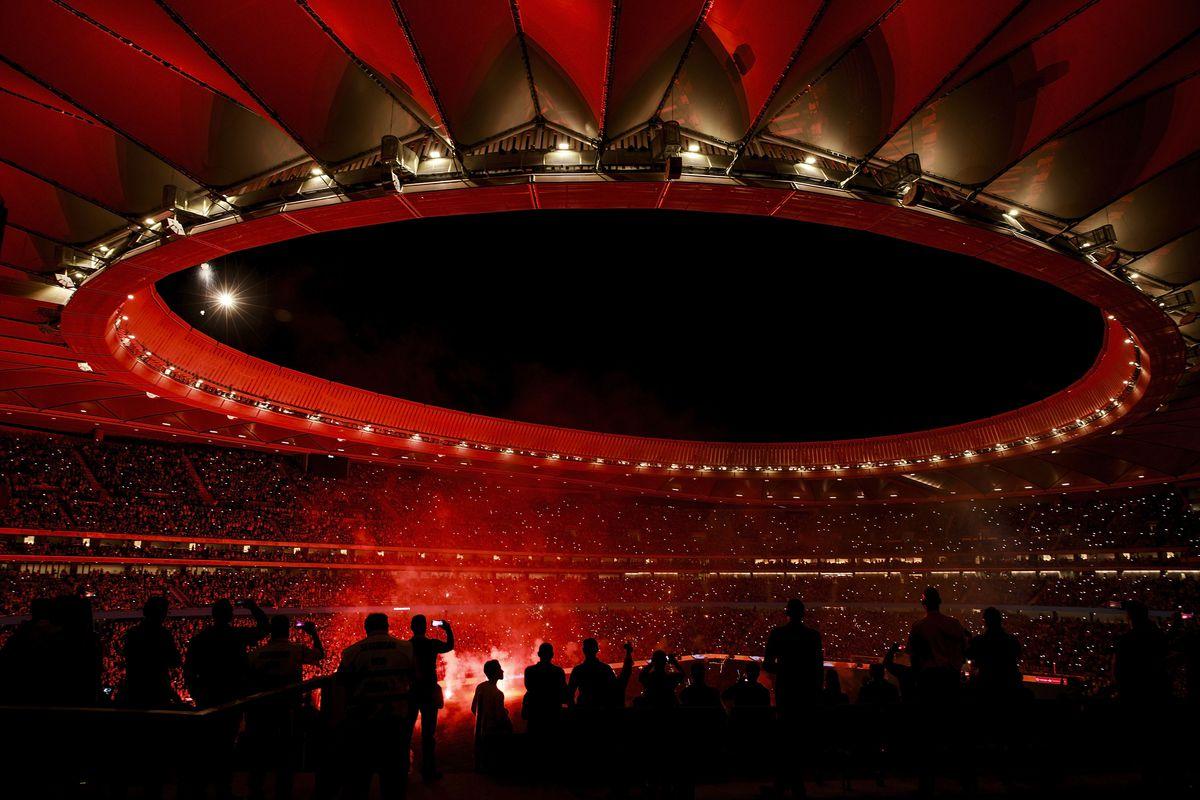 Atletico Madrid v Malaga - La Liga