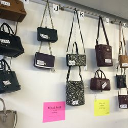 Bags, priced as marked