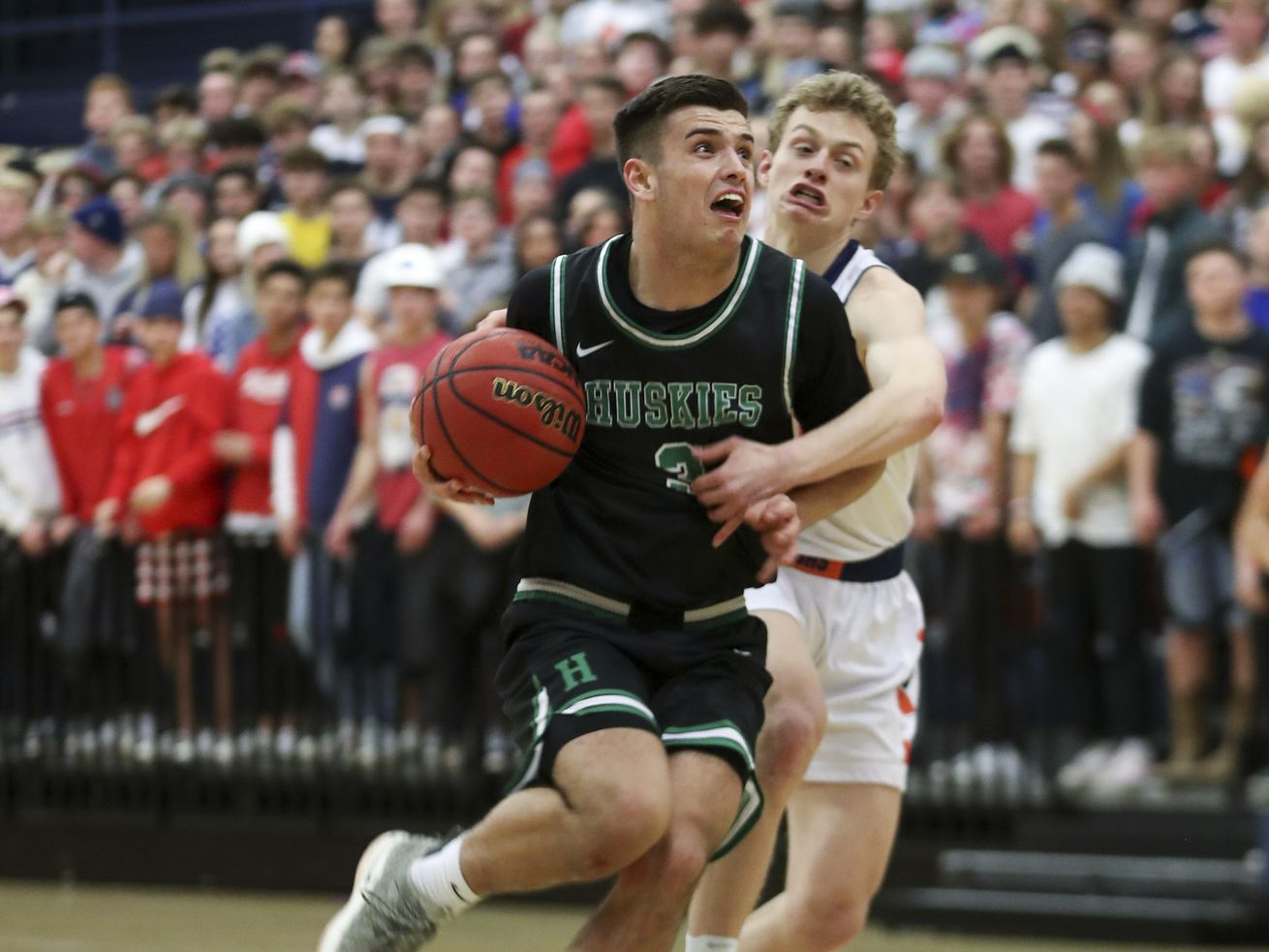 High school boys basketball photos: Balanced effort paces Brighton past rival Hillcrest