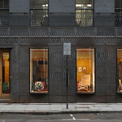 Facade for Paul Smith store in London by 6a Architects
