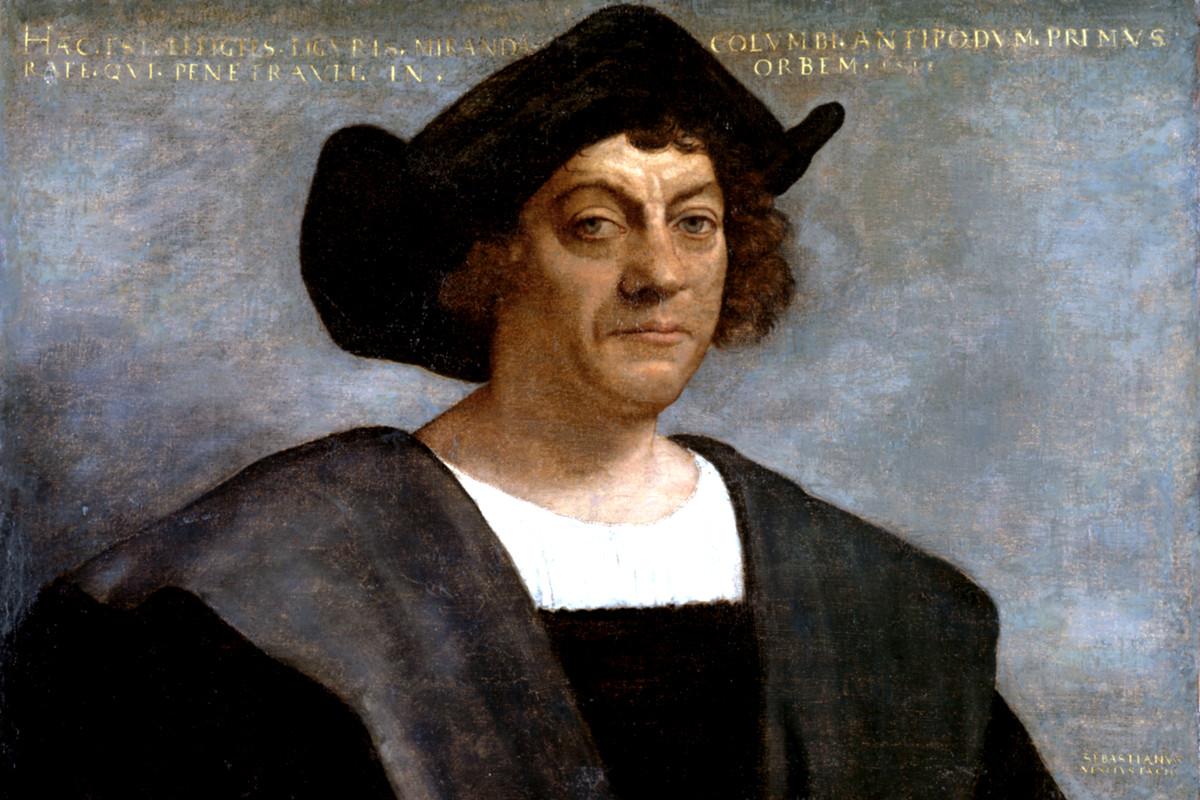 Christopher Columbus, dirtbag.