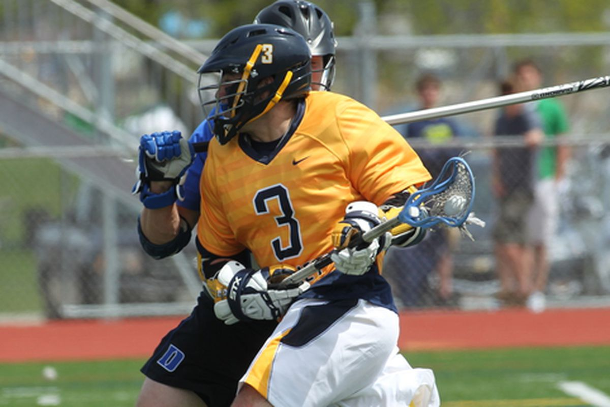 Bryan Badolato's hat trick led Marquette in scoring against Providence.