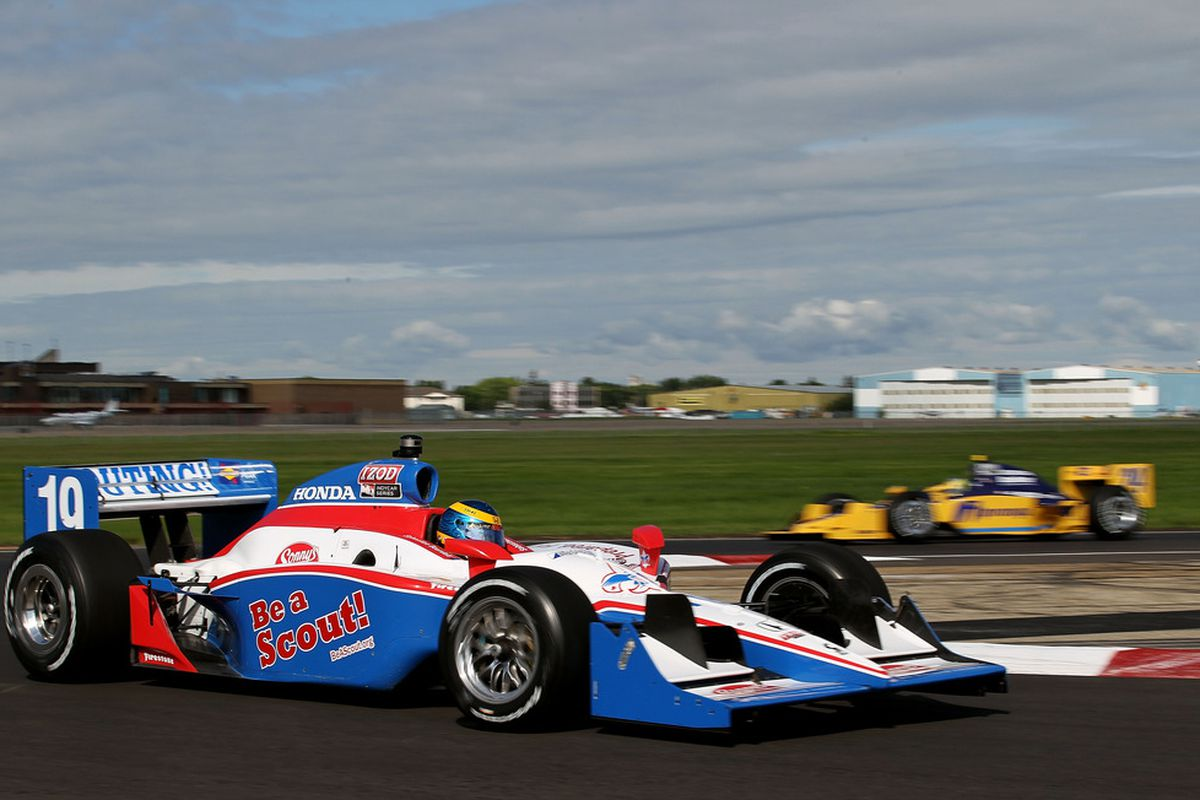 Seriously? The BSA can sponsor a racecar? So...why is MLS jumping on board again? Oh right, the ticket sales.  CREDIT: Nick Laham/Getty Images